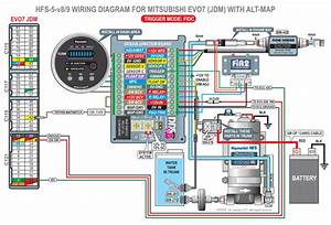 Map Switching Wiring Diagram For Jdm Evo7
