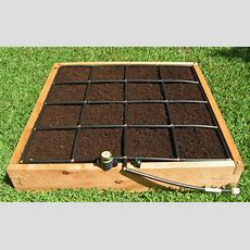 Handcrafted 4x4 Raised Garden Kit W A Watering System