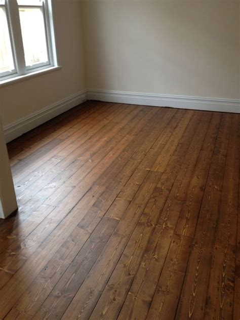 floorboard colours baltic pine with cognac stain potential paint colours pinterest