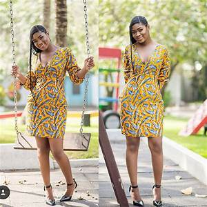40+ Latest New Ankara Short Gown Styles 2018 for Bright Ladies: African Fashion Trend