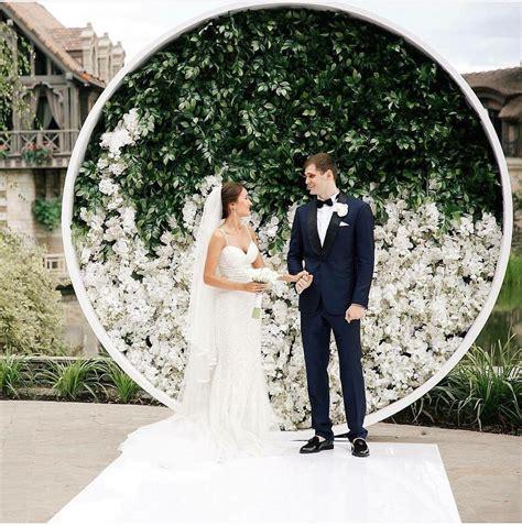 Wedding Ceremony Backdrops That Feel Fresh Modern And