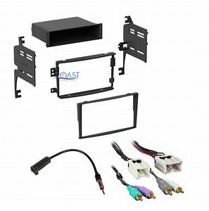 Car Radio Stereo Dash Kit Wiring Harness Antenna For 2006