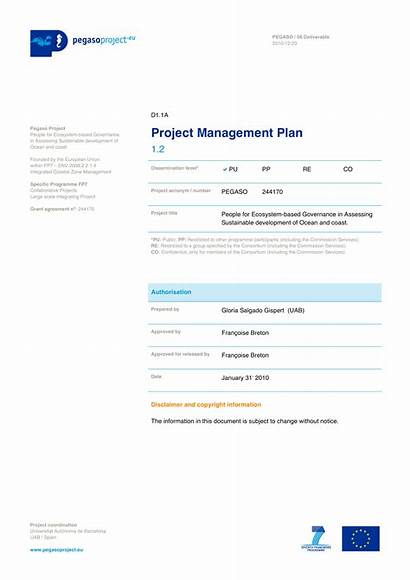 Management Plan Project Example Examples Operations Template