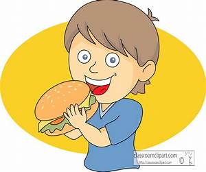 Boy Eating Clipart - Clipart Suggest