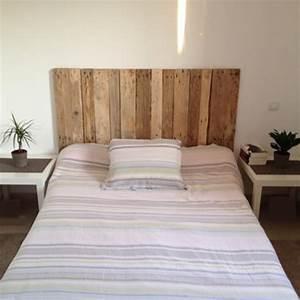 Tete De Lit En Bois : tete de lit originale en bois ~ Teatrodelosmanantiales.com Idées de Décoration