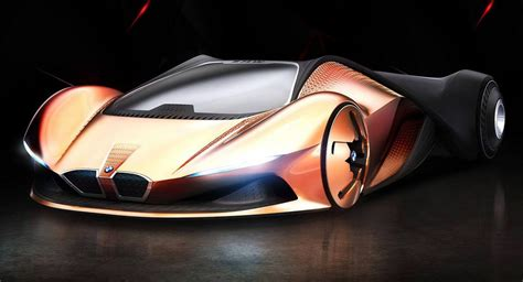 This Bmw M1 Shark Concept Study Come From The Year 2080
