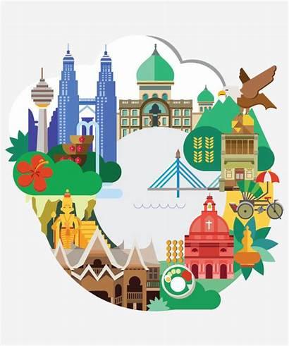 Malaysia Malaysian Graphic Illustration Chin Lim Valen