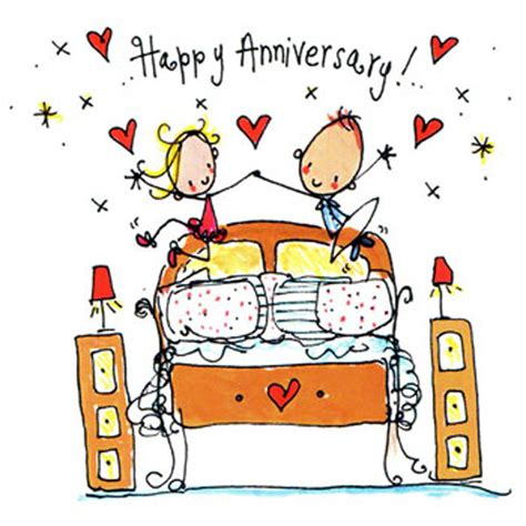 Wedding Anniversary Wishes Cartoon