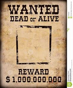 best photos of wanted dead or alive poster template With wanted dead or alive poster template free