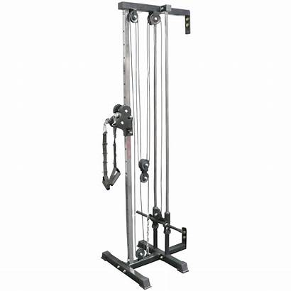Pulley Mounted Tower Gym Fitness Titan Machine