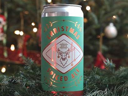 Crowler Label Christmas Dribbble Substrate Happy Bopp