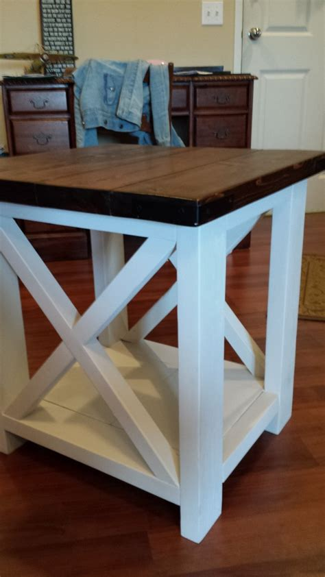 ana white rustic  coffee   table diy projects