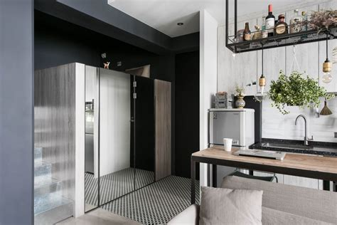 Tiny Scandinavian Studio Loft by Tiny Studio Apartment With Loft Bed For A Single In