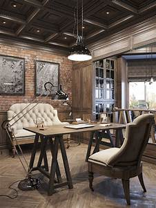 Interiors | Office designs, Rustic office and Interiors