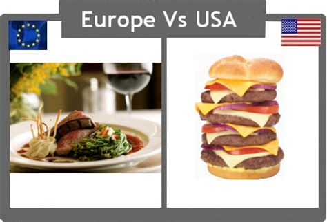cuisine usa it 39 s cup europe vs the usa