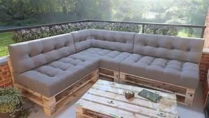 Sitzecke Aus Paletten : von lauschig bis gro z gig 10 ideen f r balkonm belsets ~ Watch28wear.com Haus und Dekorationen