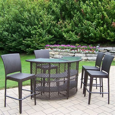 Patio Tables On Sale by Patio Bar Stools Furniture Height Dining Set Outdoor Table