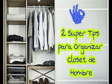 ideas para organizar un closet peque 241 o de hombre