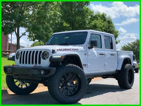 sale  jeep gladiator gladiator rubicon brand  mopar lift  tires loaded