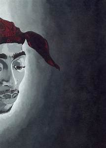 Tupac Painting by Rishanna Finney