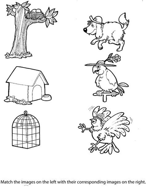 homes of animals worksheets for kids crafts actvities and worksheets for preschool toddler and kindergarten