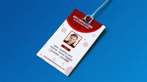 create professional id card template photoshop tutorial