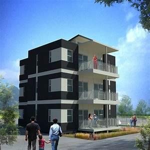 3 Storey Apartment Building Design brucallcom, commercial