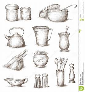 Sketches Of Kitchen Utensils ~ crowdbuild for