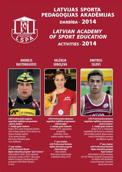 LSPA aktivitātes 2014 - LASE activities 2014 by Jānis ...