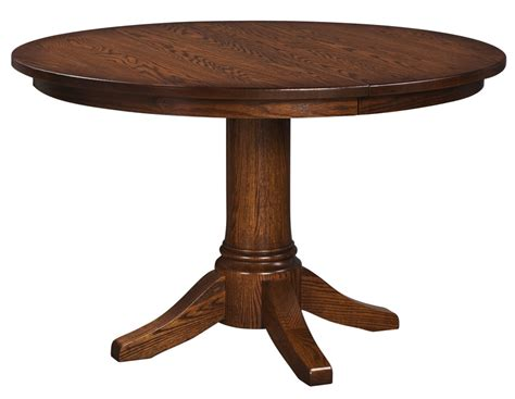 Round Extension Pedestal Table