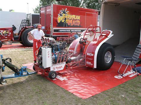 Henk De Groot Bij Truck En Tractorpulling Op Strand Nulde 2017