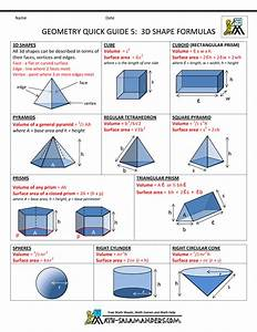 Geometry Cheat Sheet