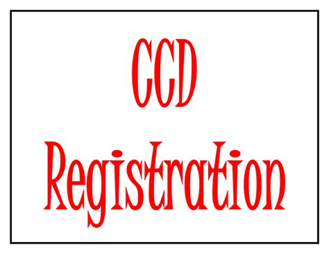 registrations olg office catechesis
