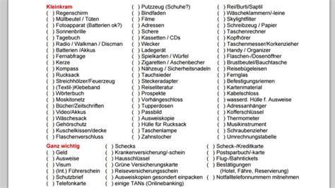 Checkliste Urlaub Alles Im Gepaeck by Gratis Software F 252 R Den Perfekten Urlaub Bilder