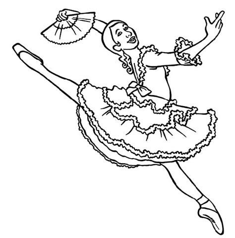 professional ballerina coloring page color luna