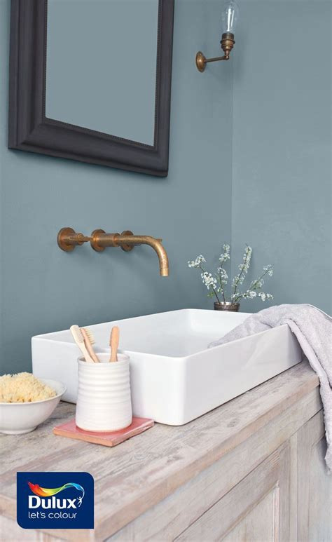 Badezimmer Modern Streichen by No Need For Bathroom Tiles With The Dulux Easycare