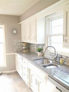 kitchen renovations kitchens and home renovation on pinterest With kitchen colors with white cabinets with off sticker