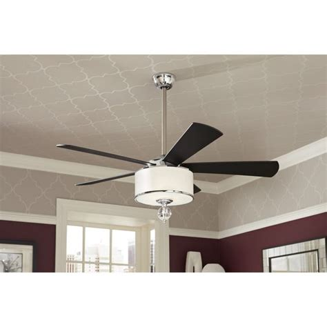 Allen Roth Harbor Ceiling Fan Manual by Shop Allen Roth Harbor 52 In Polished Chrome