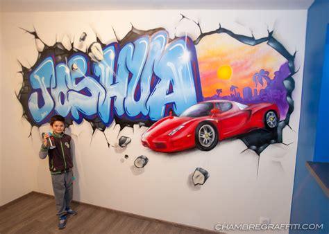 chambre graffiti graffiti pour joshua avec une par shem