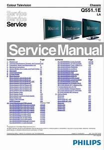 Philips 58pfl9956h Tv Service Manual And Repair