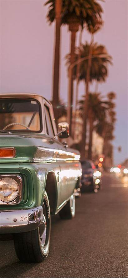 Iphone Wallpapers Sunset Aesthetic Retro Parked Blvd