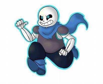 Underswap Sans Undertale Blueberry Deviantart Human Skeleton
