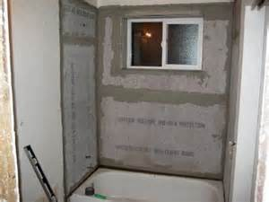 Hardie Tile Backer Board by Drywall Repair Drywall Repair Around Shower Head