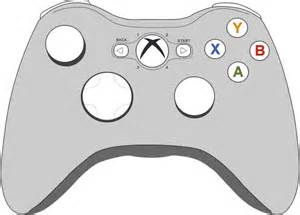 xbox coloring pages