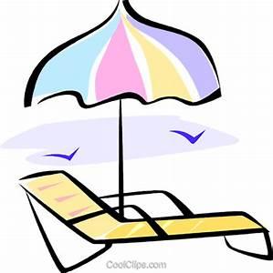 strandkorb und sonnenschirm vektor clipart bild vc062273 With französischer balkon mit sonnenschirm clipart