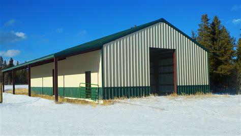 Steel Barn Kits by Metal Barns Prefab Steel Barn Buildings General Steel