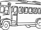 Bus Coloring Drawing Tayo Magic Printable Line Clipartmag Getdrawings Getcolorings sketch template