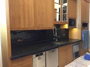 Pose De Cuisine : pose de zellige dans une cuisine montpon m nest rol ~ Melissatoandfro.com Idées de Décoration