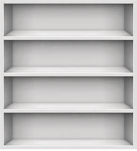Empty Store Shelves Clip Art, Vector Images ...