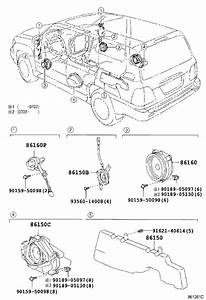 Lexus Lx 470 Speaker Assembly  With Box  No  2  Electrical
